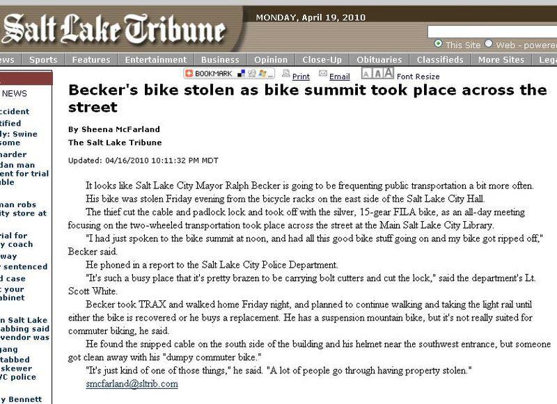 Becker's Bike
