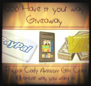 Enter to win $200 - ends 12/05/12