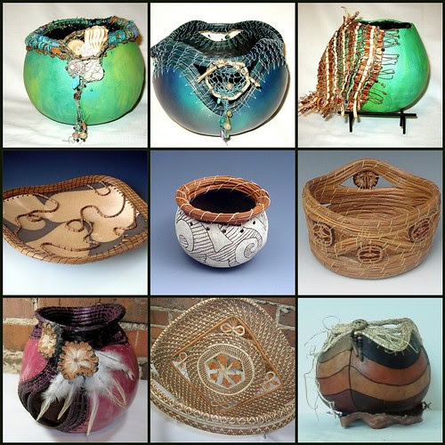 Gourds & Baskets at Port City Pottery & Fine Crafts