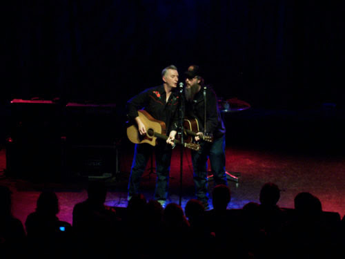 Billy Bragg & Otis Gibbs Shepherds Bush Empire, December 8, 2008