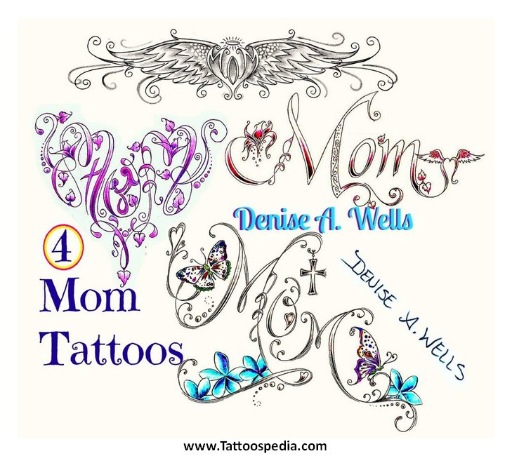 Tattoo Designs For Women With Kids Names 1