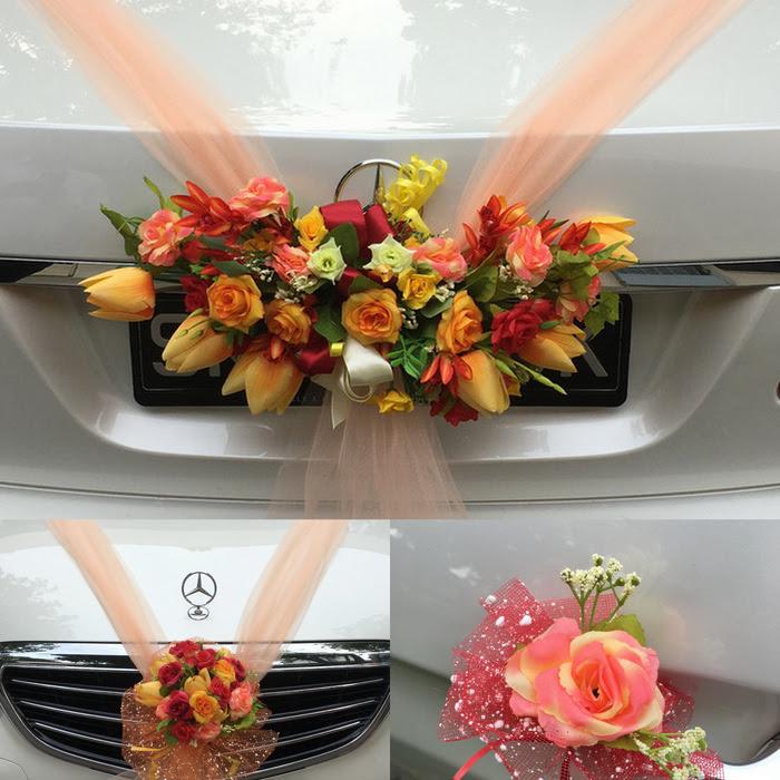Wedding Flowers Arrangement Wedding Car Decoration Bridal Car Flowers