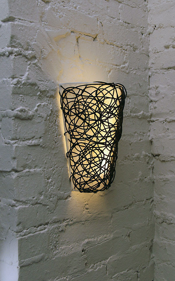 Battery Powered Wall Sconce with White Light or Candle Flicker ...