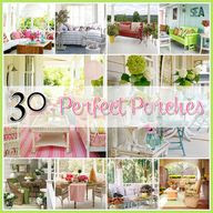 Country porch decorating