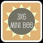 [3x6] Sampler Quilt Mini Bee