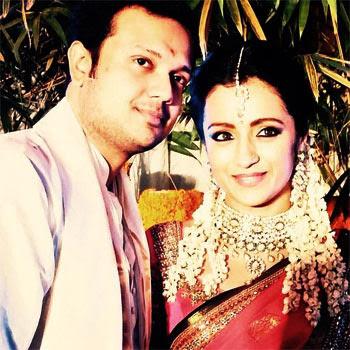 Trisha Krishnan engaged with Varun Manian