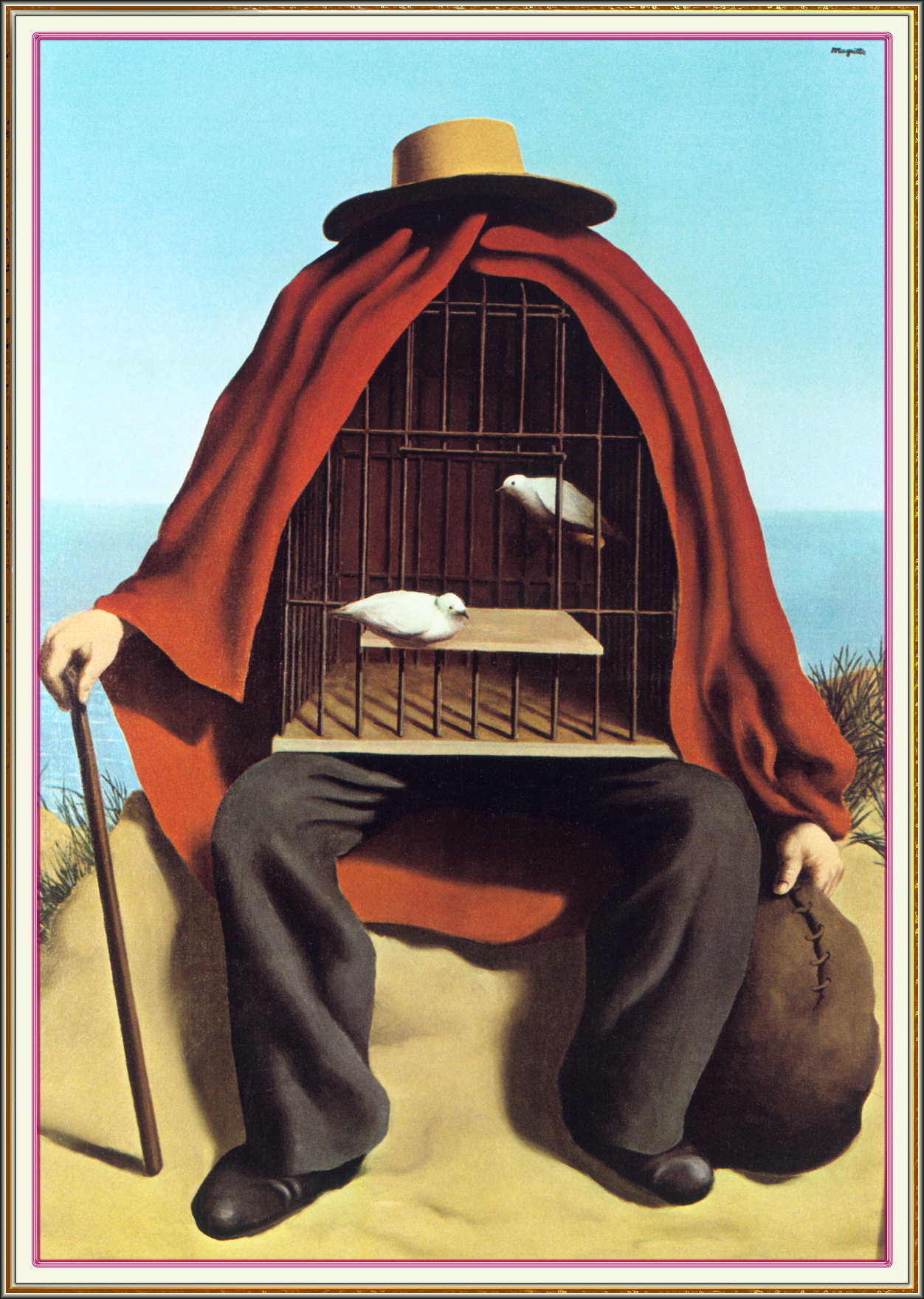 The therapeutist, 1937 Rene Magritte