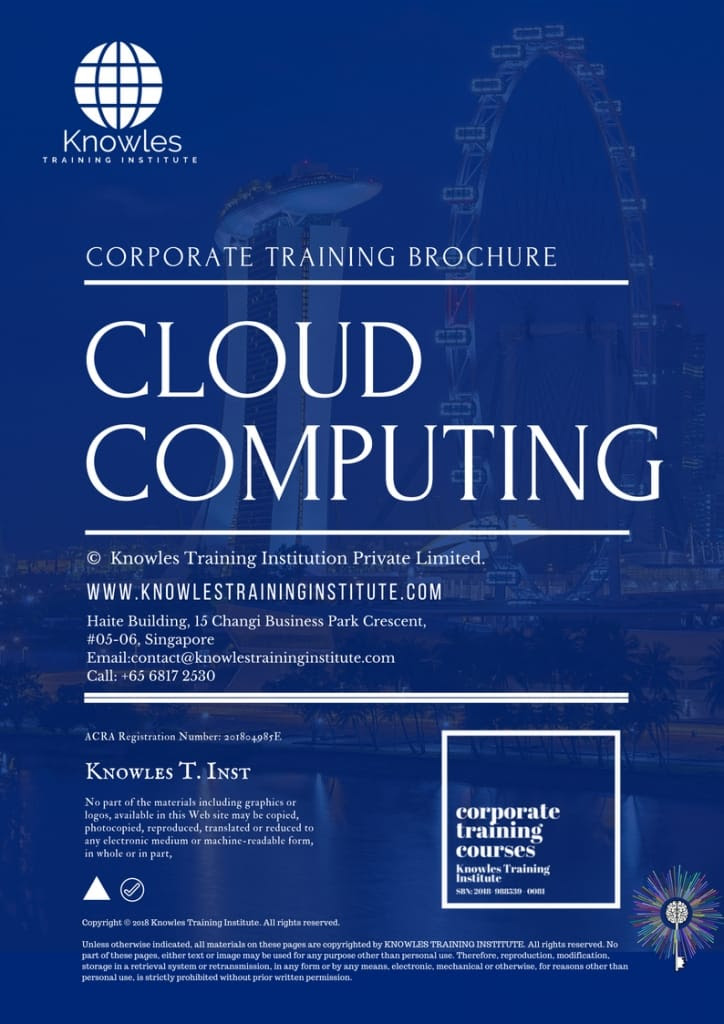 Cloud Computing Training Course In Singapore - Knowles ...