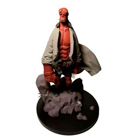 hellboy statue pow  hero