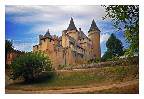 Castillo Puymartin  castillos medievales