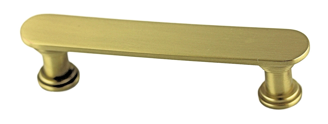 Satin Brass DIY Cabinet Pull Base