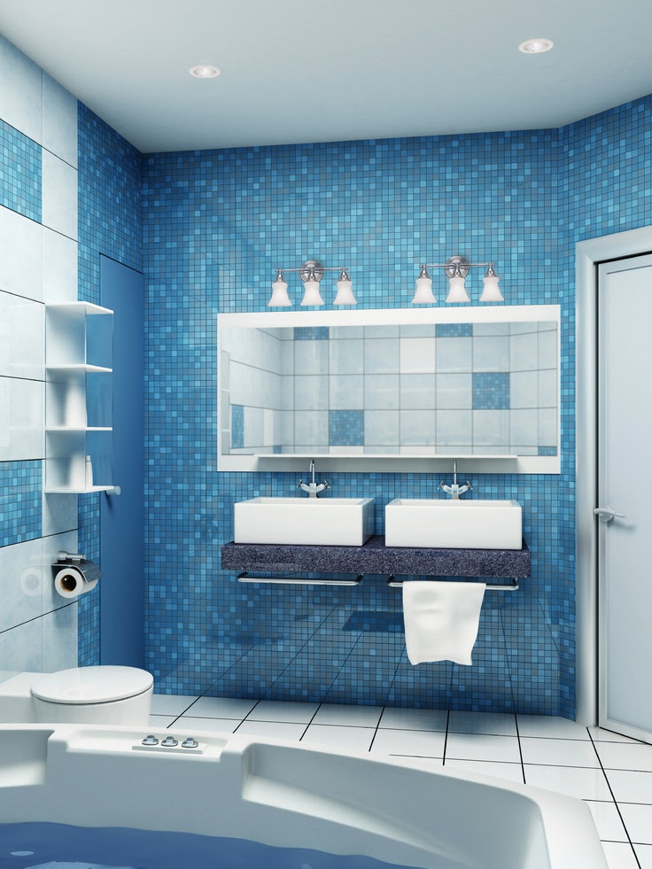 44 Sea-Inspired Bathroom Décor Ideas | DigsDigs