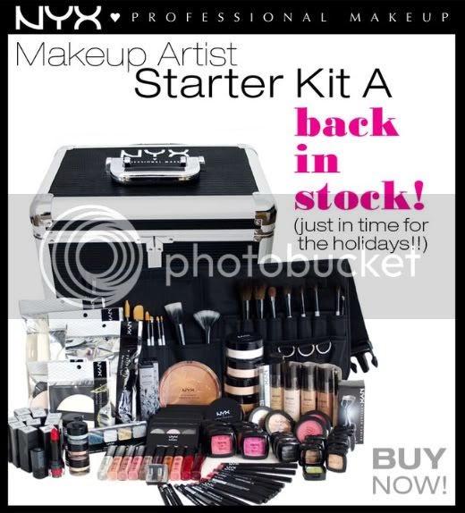chromaticmakeup nyx cosmetics makeup artist starter kit