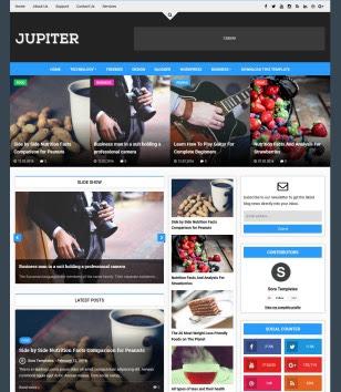 Jupiter Blogger Templates