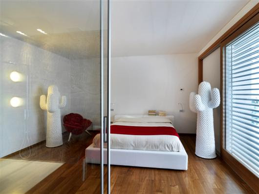 duilio damilano horizontal space modern architecture  architecture, bedroom interior design , interior design , art deco