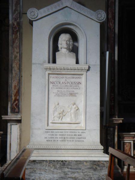 File:Colonna - san Lorenzo in Lucina - tomba di Poussin 01014.JPG