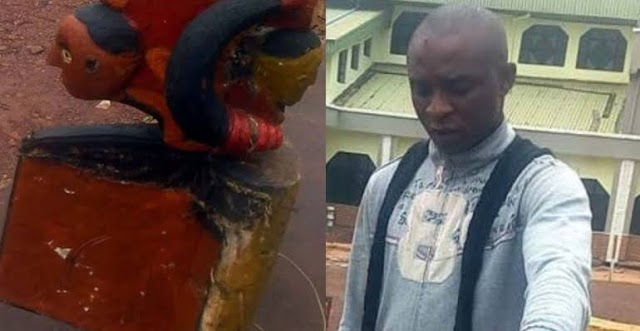 OMG!! A Nigerian Man Has Been Arrested For Arresting God (You Need To See This)