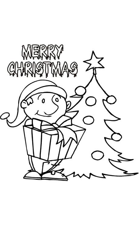 malvorlagen frohe weihnachten - malvorlagen