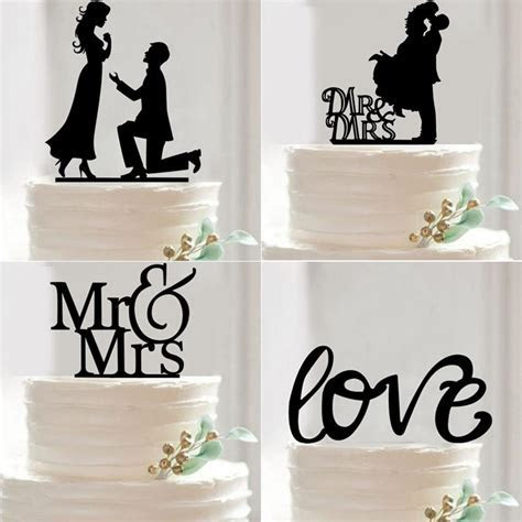 Online Cheap Wholesale New Mr Mrs Wedding Cake Topper
