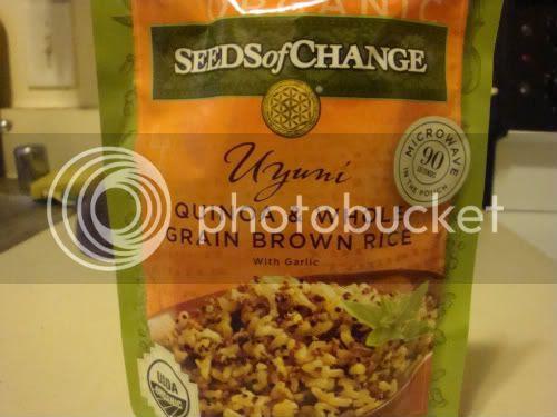 Quinoa and rice mix