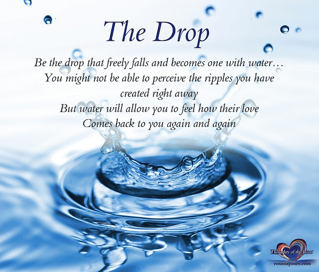 Quotes About Drop Of Water 85 Quotes