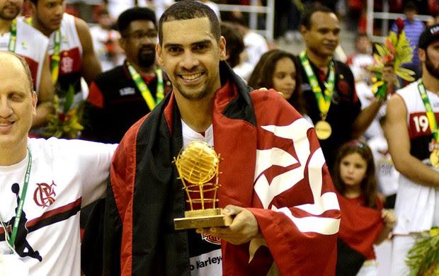 Basquete nbb Flamengo e Uberlândia final marquinho melhor jogador da temporada (Foto: André Durão / Globoesporte.com)