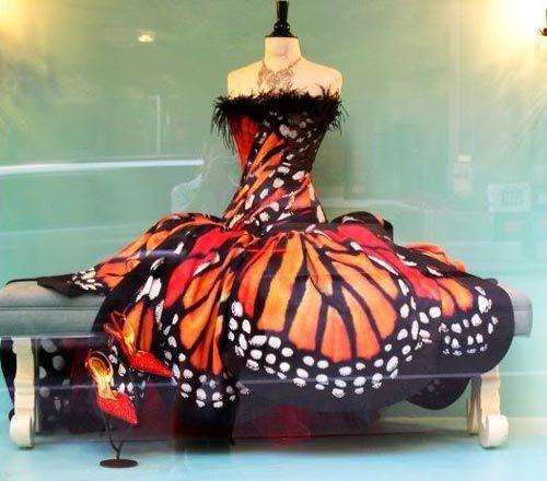 Amazing painted dress
