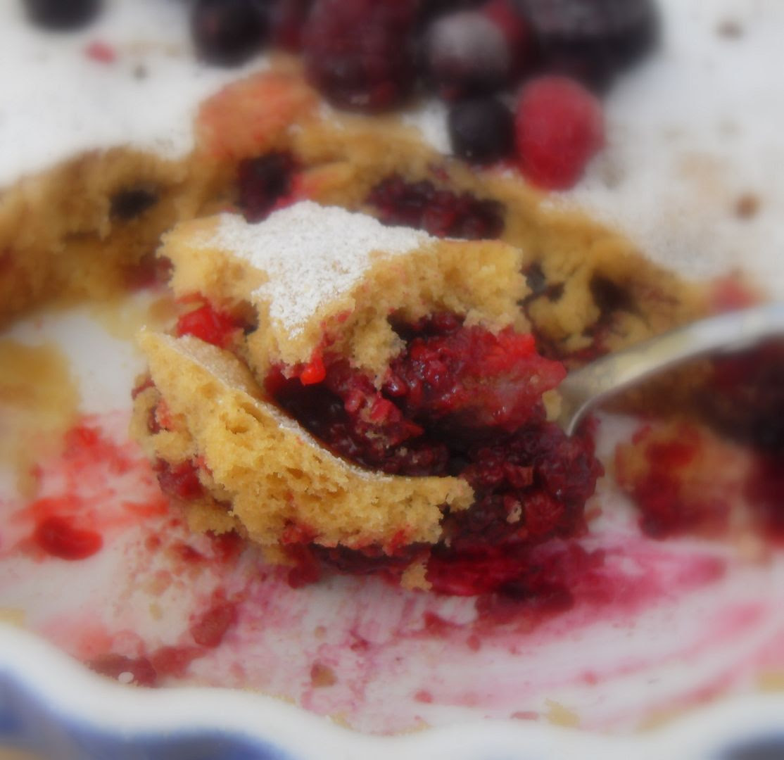 Berry and White Chocolate Pudding