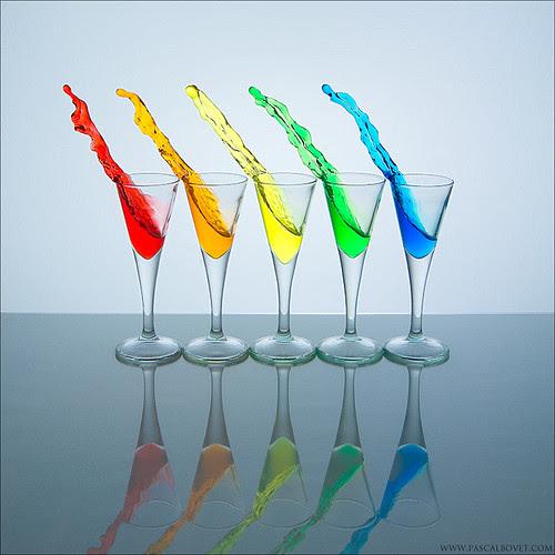 Rainbow splash por pascalbovet.com