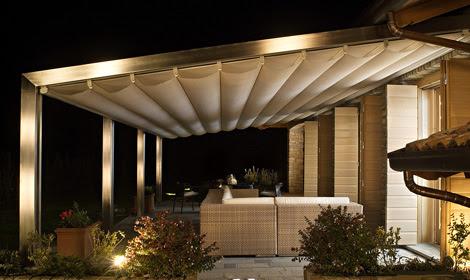 Aluminium Pergola from Corradi - Millenium design brings the ...