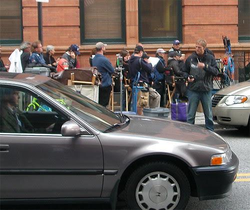 Filming Die Hard 4