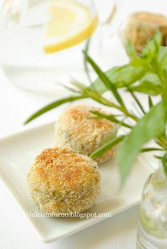 Crocchette di Zucchine al Forno-Baked Zucchini Croquettes
