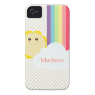 Kawaii Sun & Rainbow Case-Mate iPhone 4 Cases