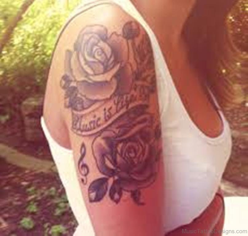 50 Outstanding Music Tattoos