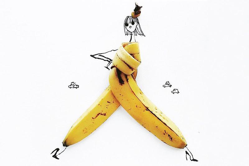 食べ物が服に アイデア溢れる食べ物アート中国網日本語