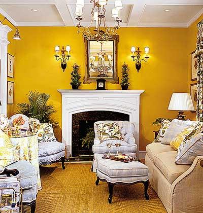 Perpaduan Warna Cat Rumah Kuning Kunyit Inspirasi Desain Menarik