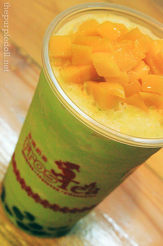 Deluxe Honeydew Smoothie with Mango & Pearl P100