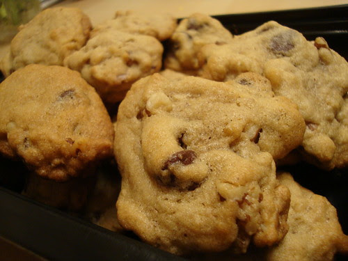 Nestle Toll House cookies with walnuts from scratch 3/31/13