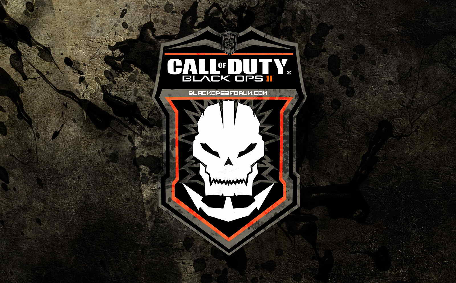 Call Of Duty Black Ops Logo Wallpaper
