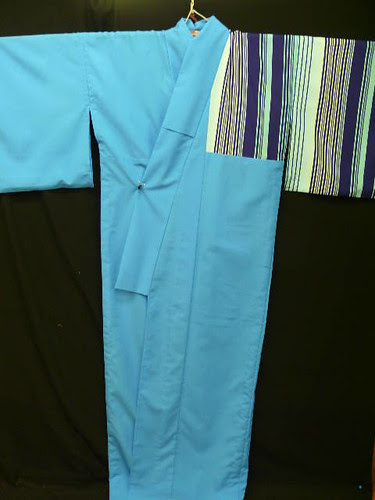 Striped Odori Kimono by Talleke81