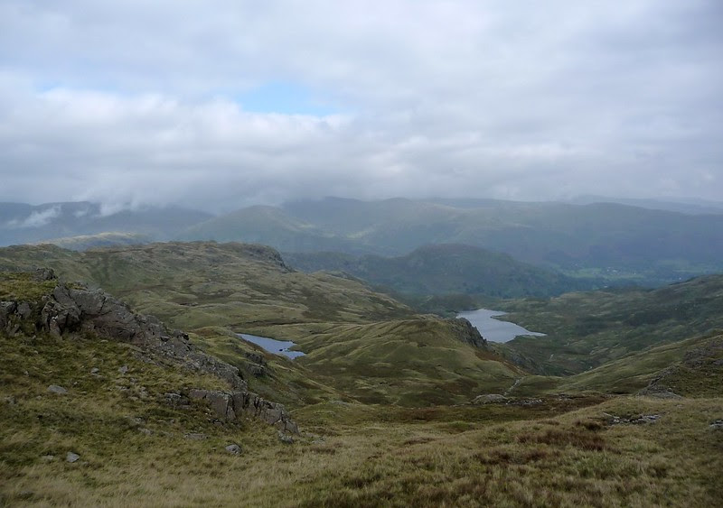 P1060604 - Stickle Tarn and Langdale Pikes
