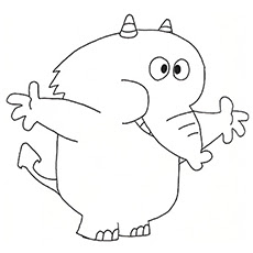 free printable elephant coloring pages at getcolorings  free printable colorings pages to