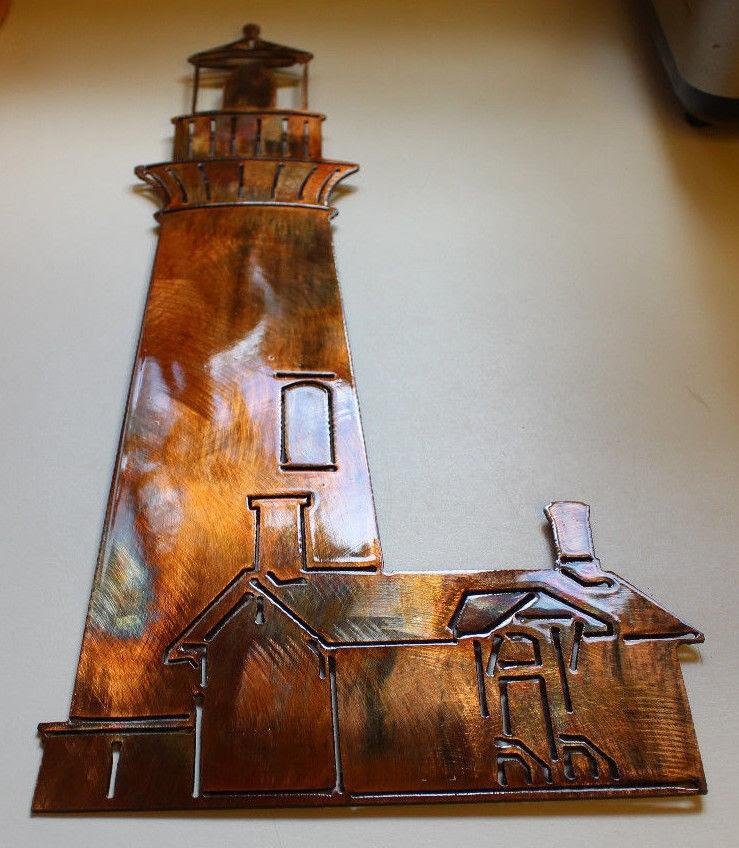 Lighthouse Metal Wall Art