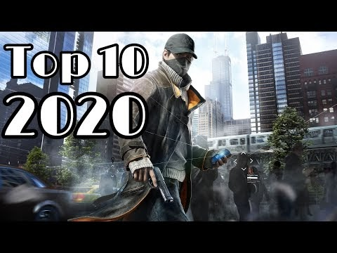 Top 10 upcoming games of 2020