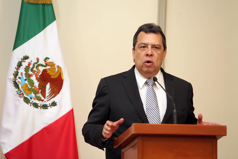 Ángel Aguirre, gobernador de Guerrero. Foto: Benjamín Flores.