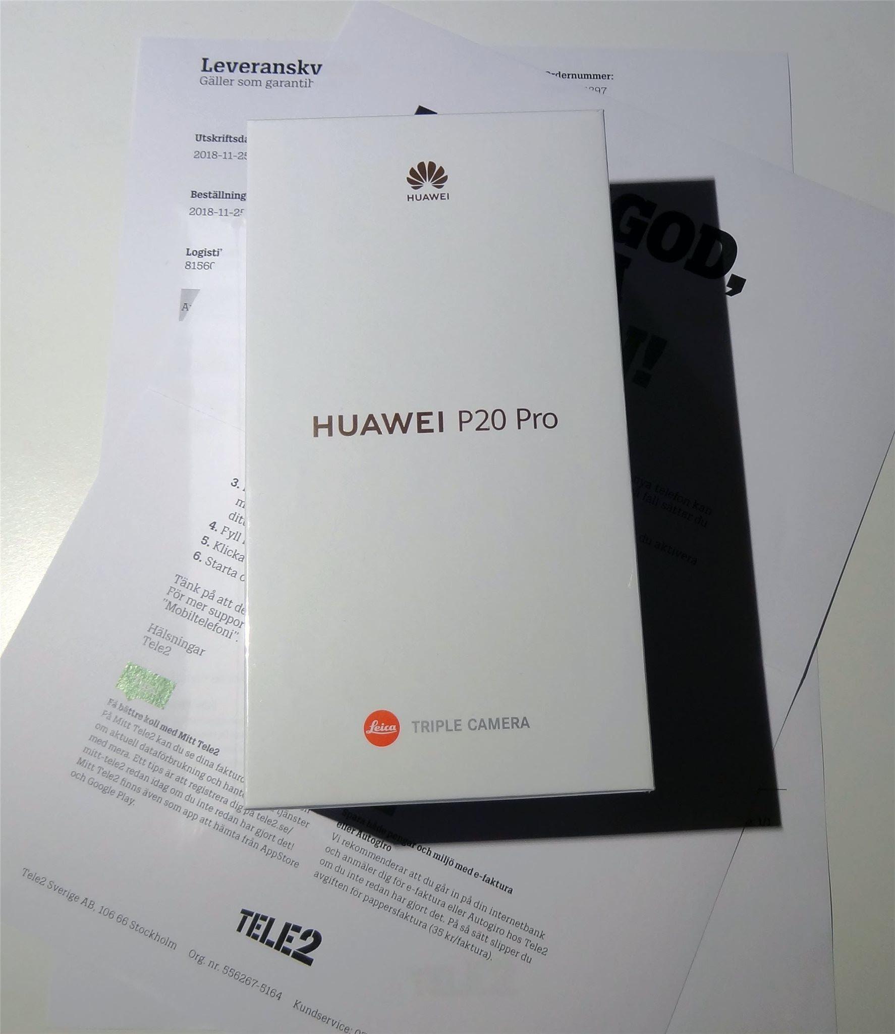 Huawei P20 Pro 128gb Dual Sim Midnight Blue Olå 330628394 ᐈ Köp
