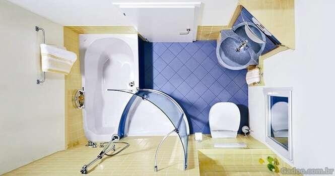 Ideias fantásticas para fazer em banheiros pequenos