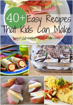 Is it time you start letting your kids help out in the kitchen? Teaching them to cook early is a great life skill that will benefit them down the road. Here is a great list of easy recipes to get your kids started!