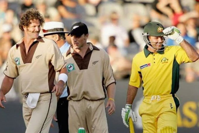 17th February 2005: Ponting Stars, Kiwis go Retro in First-ever T20I