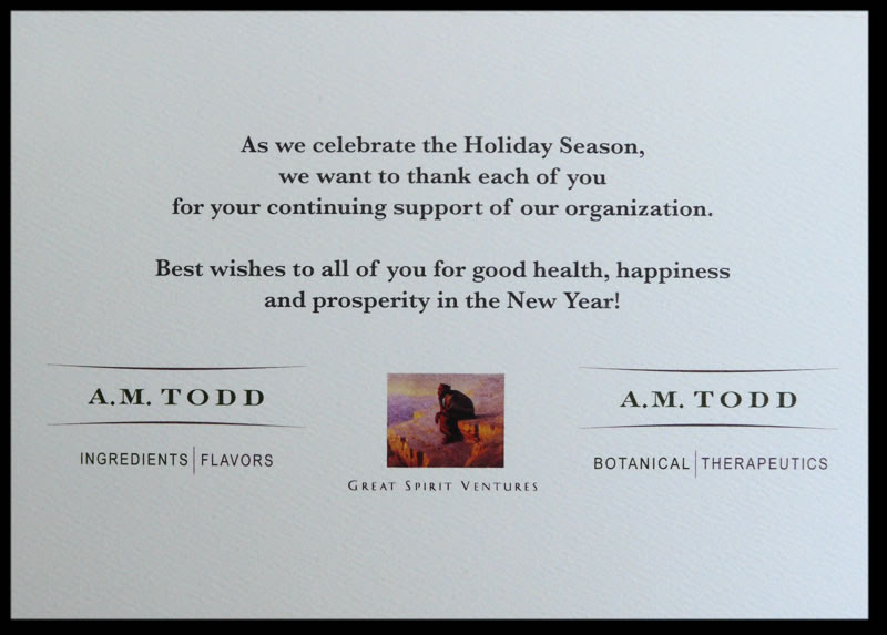 Custom Corporate Greeting Cards By Albion Design
